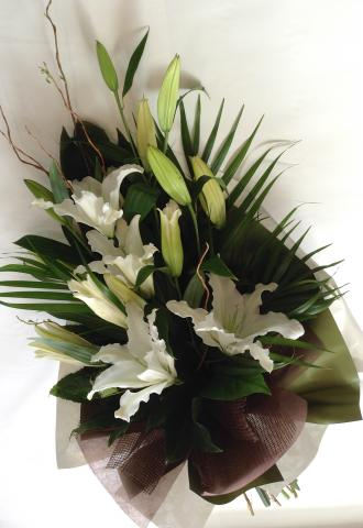 Oreintal Lily Hand Tied Bouquet